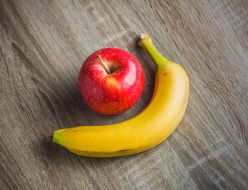 Fruits Corner: Apples and Bananas